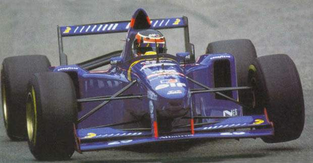 Aguri Suzuki Ligier